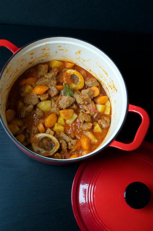 cooked kenyan beef stew